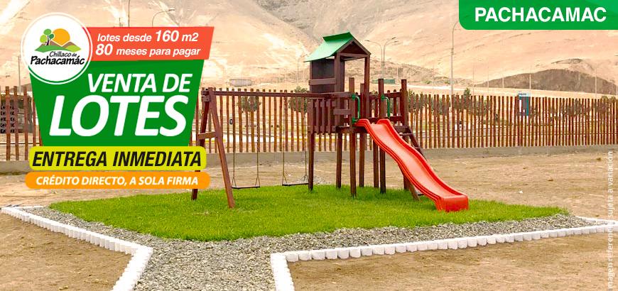 Chillaco » Lotes en Pachacamac